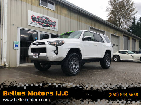 2020 Toyota 4Runner for sale at Bellus Motors LLC in Camas WA