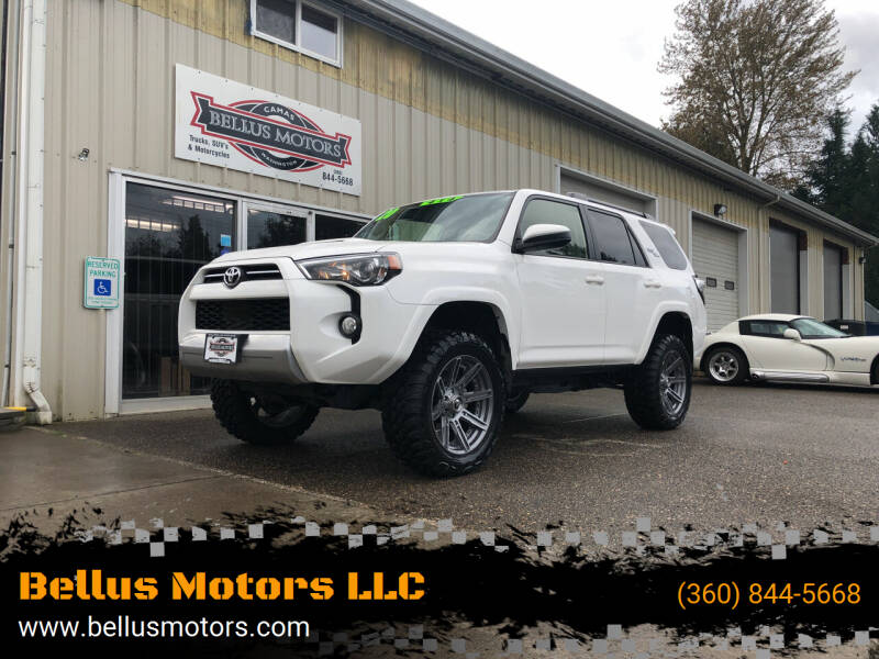 2020 Toyota 4Runner for sale at Bellus Motors LLC in Camas WA