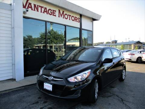 2017 Hyundai Accent for sale at Vantage Motors LLC in Raytown MO