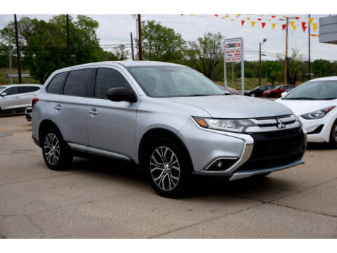 2016 Mitsubishi Outlander for sale at Sand Springs Auto Source in Sand Springs OK