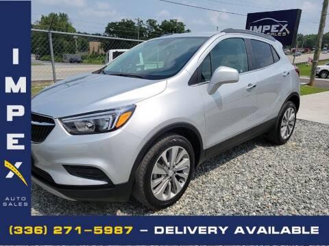 2020 Buick Encore for sale at Impex Auto Sales in Greensboro NC