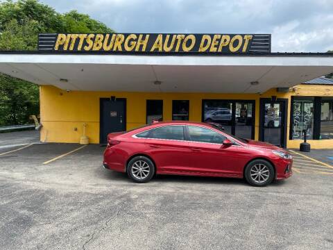 2019 Hyundai Sonata for sale at Pittsburgh Auto Depot in Pittsburgh PA