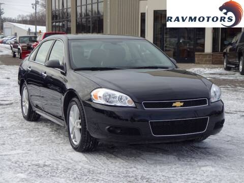 2015 Chevrolet Impala Limited for sale at RAVMOTORS 2 in Crystal MN