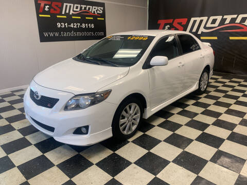 2010 Toyota Corolla for sale at T & S Motors in Ardmore TN