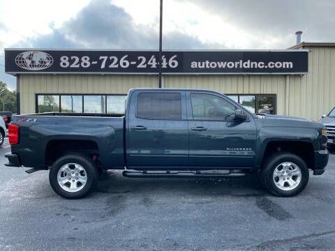 2018 Chevrolet Silverado 1500 for sale at AutoWorld of Lenoir in Lenoir NC