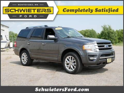 2017 Ford Expedition for sale at Schwieters Ford of Montevideo in Montevideo MN