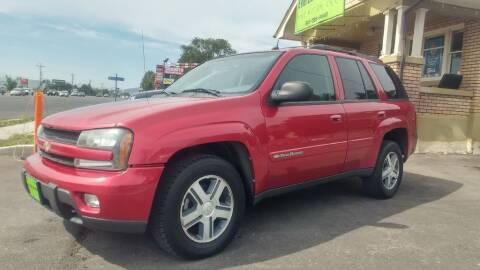 2004 Chevrolet TrailBlazer for sale at Everett Automotive Group in Pleasant Grove UT