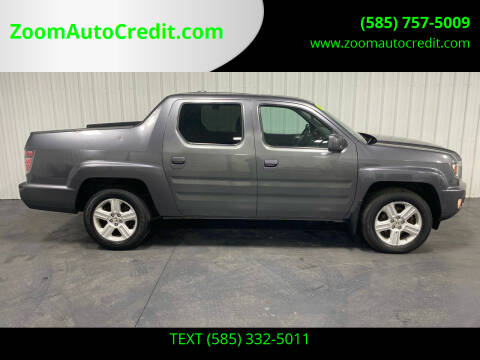 2014 Honda Ridgeline for sale at ZoomAutoCredit.com in Elba NY