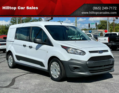2017 Ford Transit Connect Cargo for sale at Hilltop Car Sales in Knoxville TN