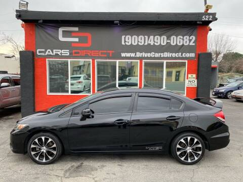 2013 Honda Civic for sale at Cars Direct in Ontario CA