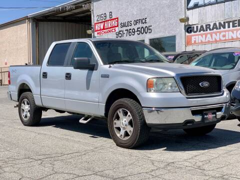 2008 Ford F-150 for sale at Auto Source in Banning CA