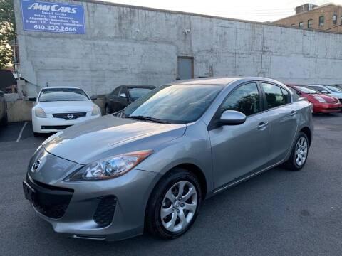 2013 Mazda MAZDA3 for sale at Amicars in Easton PA