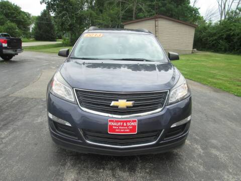 2013 Chevrolet Traverse for sale at Knauff & Sons Motor Sales in New Vienna OH