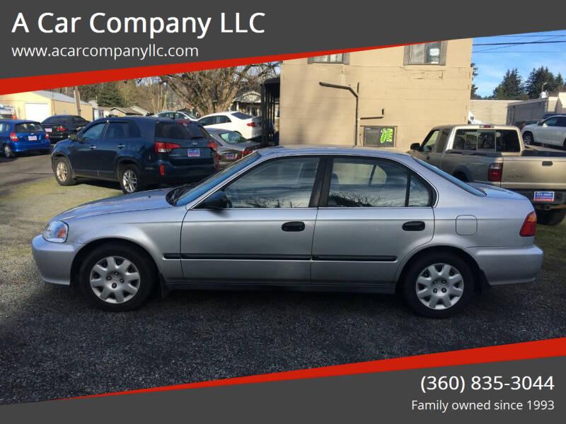 1999 Honda Civic for sale at A Car Company LLC in Washougal WA