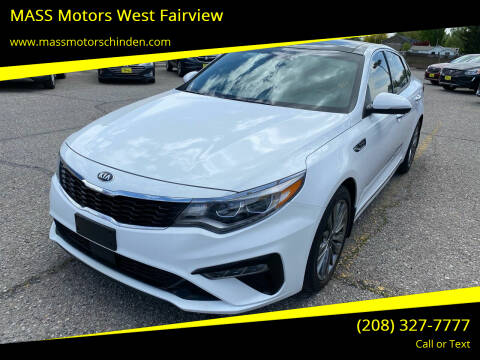 2019 Kia Optima for sale at MASS Motors West Fairview in Boise ID