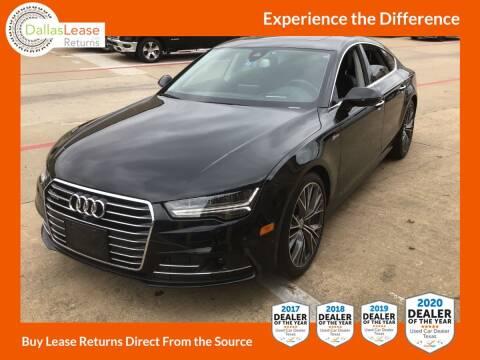 2017 Audi A7 for sale at Dallas Auto Finance in Dallas TX