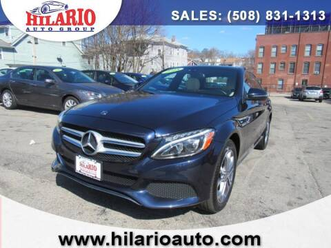 2018 Mercedes-Benz C-Class for sale at Hilario's Auto Sales in Worcester MA