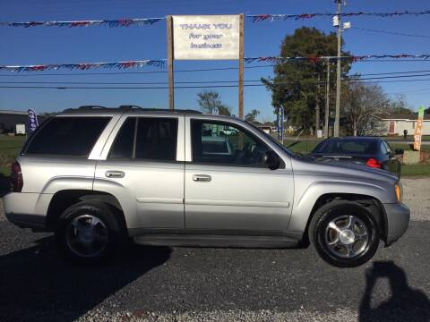 2008 Chevrolet TrailBlazer for sale at Affordable Autos II in Houma LA