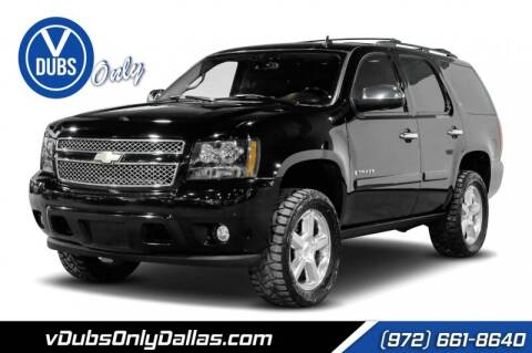 2008 Chevrolet Tahoe for sale at VDUBS ONLY in Dallas TX