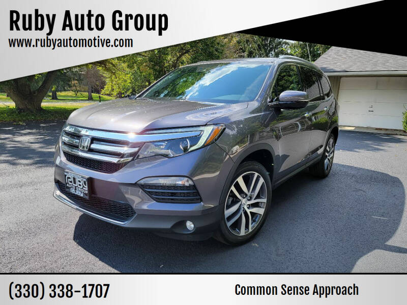2018 Honda Pilot for sale at Ruby Auto Group in Hudson OH