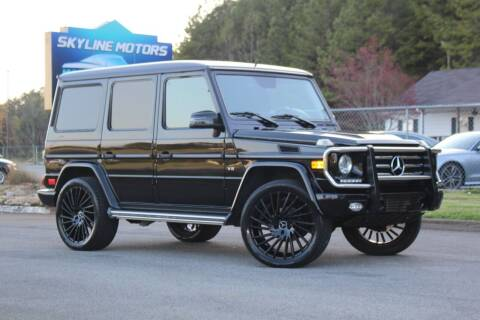 2013 Mercedes-Benz G-Class for sale at Skyline Motors in Louisville TN