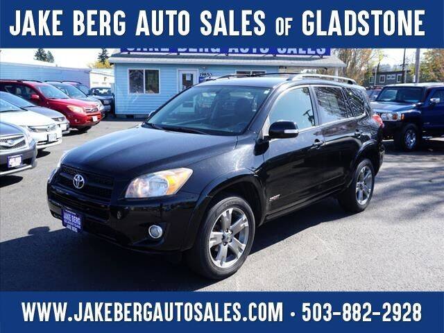 2012 Toyota RAV4 for sale at Jake Berg Auto Sales in Gladstone OR