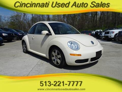 2006 Volkswagen New Beetle for sale at Cincinnati Used Auto Sales in Cincinnati OH