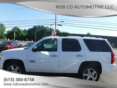 2012 Chevrolet Tahoe for sale at Rob Co Automotive LLC in Springfield TN