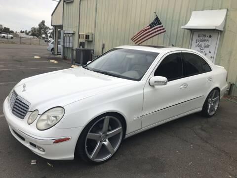 2003 Mercedes-Benz E-Class for sale at Quintero's Auto Sales in Vacaville CA
