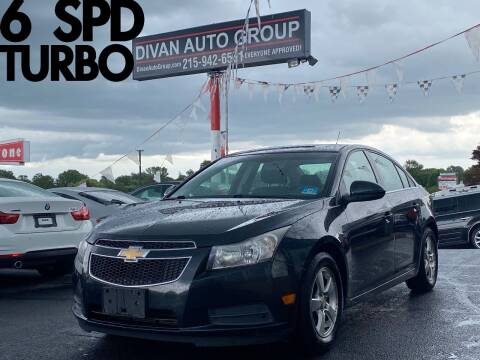 2012 Chevrolet Cruze for sale at Divan Auto Group in Feasterville Trevose PA
