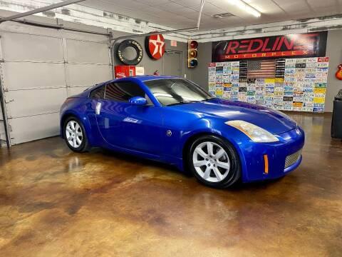 2004 Nissan 350Z for sale at Redline Motorplex,LLC in Gallatin TN