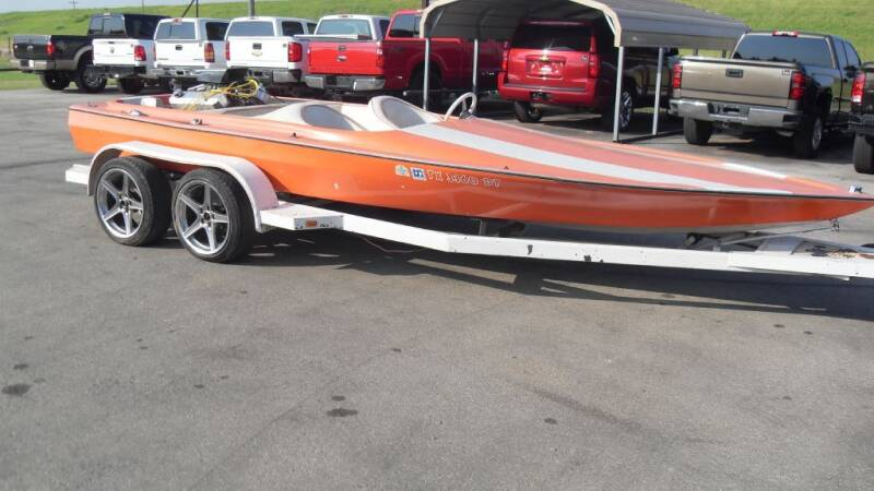 1977 MIRAGE JET BOAT for sale at 277 Motors in Hawley TX