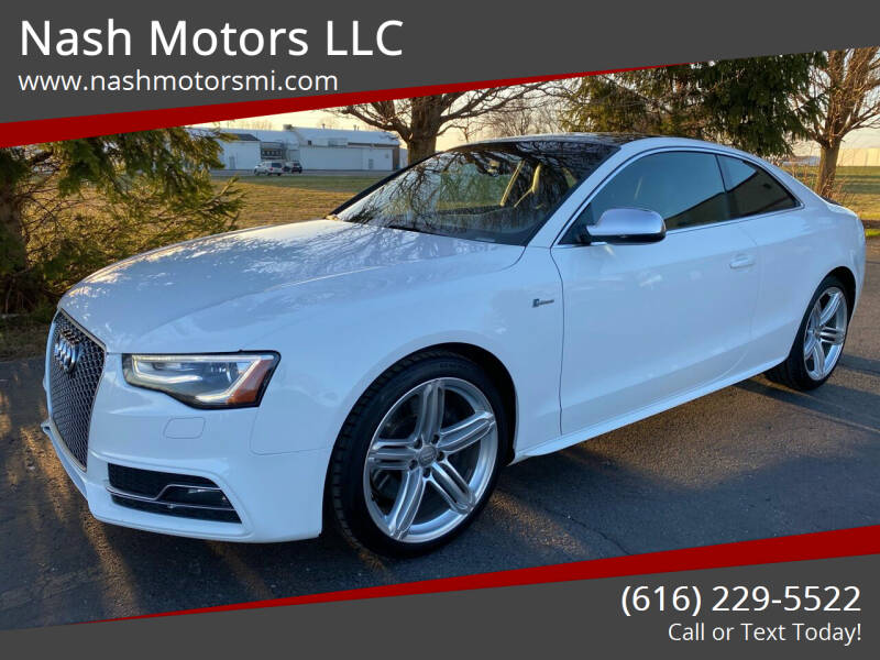 2013 Audi S5 for sale at Nash Motors LLC in Hudsonville MI