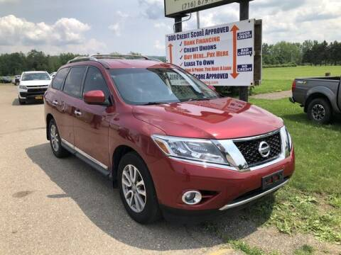 2015 Nissan Pathfinder for sale at Sensible Sales & Leasing in Fredonia NY