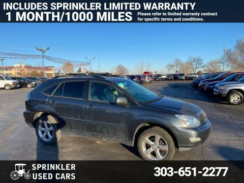 2004 Lexus RX 330 for sale at Sprinkler Used Cars in Longmont CO