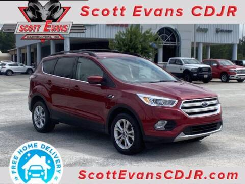 2018 Ford Escape for sale at SCOTT EVANS CHRYSLER DODGE in Carrollton GA