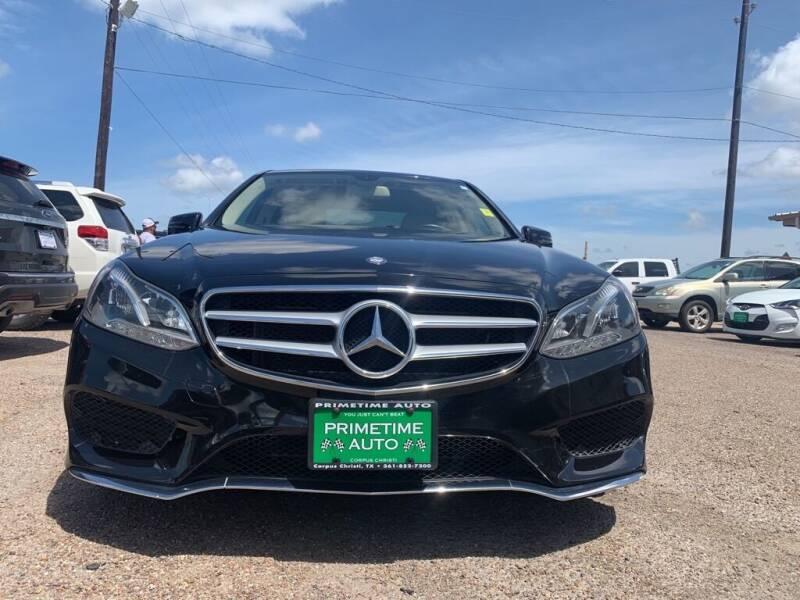 2014 Mercedes-Benz E-Class for sale at Primetime Auto in Corpus Christi TX