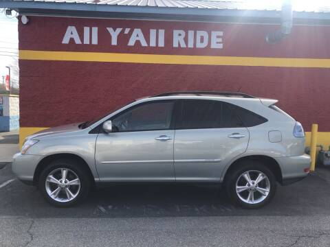 2008 Lexus RX 400h for sale at Big Daddy's Auto in Winston-Salem NC