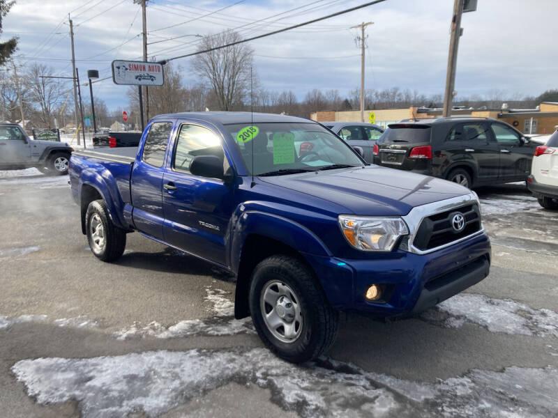 2015 Toyota Tacoma for sale at JERRY SIMON AUTO SALES in Cambridge NY