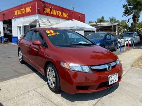 2009 Honda Civic for sale at 3K Auto in Escondido CA