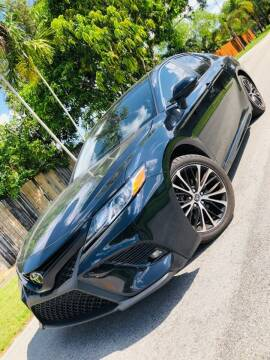 2018 Toyota Camry for sale at IRON CARS in Hollywood FL