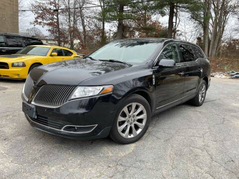 2013 Lincoln MKT for sale at Velocity Motors in Newton MA
