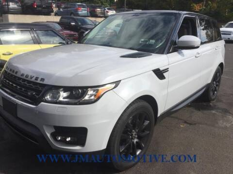 2014 Land Rover Range Rover Sport for sale at J & M Automotive in Naugatuck CT