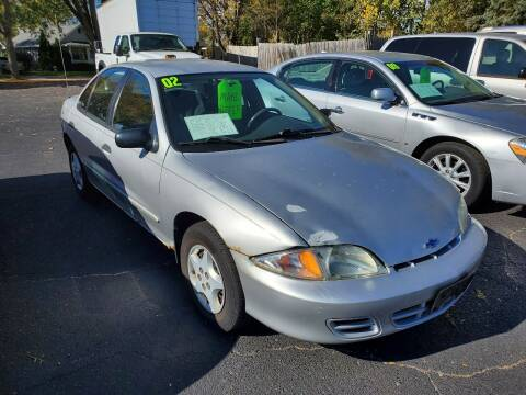 2002 Chevrolet Cavalier for sale at Stach Auto in Janesville WI
