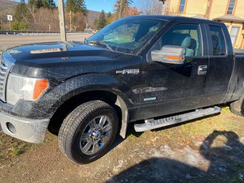 2012 Ford F-150 for sale at Richard C Peck Auto Sales in Wellsville NY