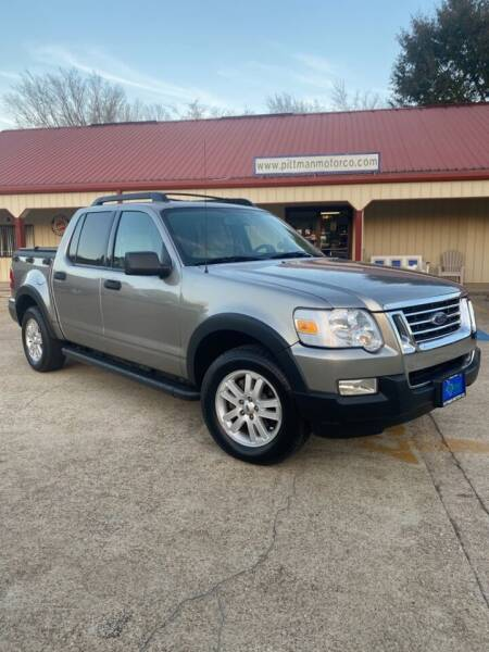 2008 Ford Explorer Sport Trac for sale at PITTMAN MOTOR CO in Lindale TX
