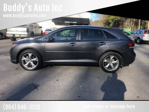 2015 Toyota Venza for sale at Buddy's Auto Inc in Pendleton SC
