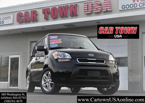 2011 Kia Soul for sale at Car Town USA in Attleboro MA