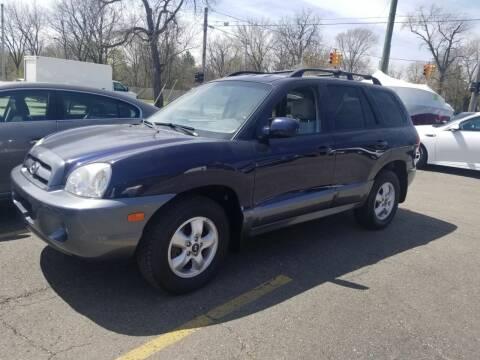 2005 Hyundai Santa Fe for sale at DALE'S AUTO INC in Mt Clemens MI