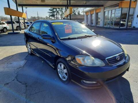 2005 Toyota Corolla for sale at PIRATE AUTO SALES in Greenville NC